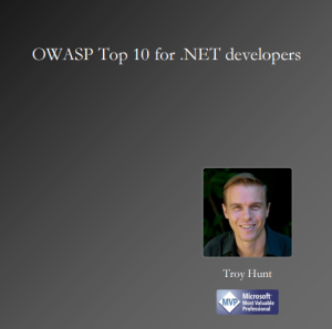 Ebook Owasp Top Tep .Net Developers