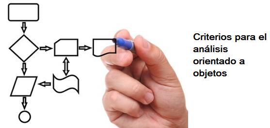 Criterios para el análisis orientado a objetos